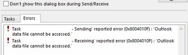 0x8004010f : 3 ways to fix outlook error code