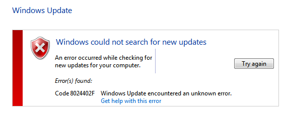 Code 8024402f: While Installing Windows update Fixed