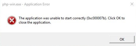 Application Error 0xc000007B in Windows 7/8/10 Fixed