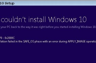 0x80070070 – Fix Windows 10 Install error code