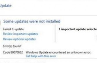 0x80070003: Windows Update error code Fixed