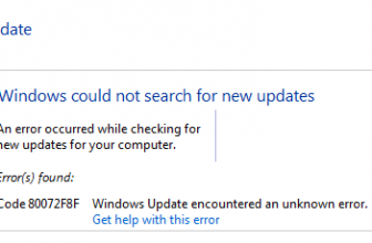 Code 80072f8f: Windows Update Unknown Error Fixed
